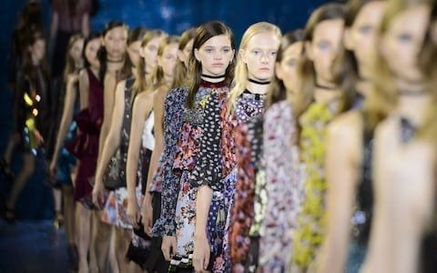 10 Best Dresses Of London Fashion Week Spring Summer 2018 catwalk spring summer 2018 dress