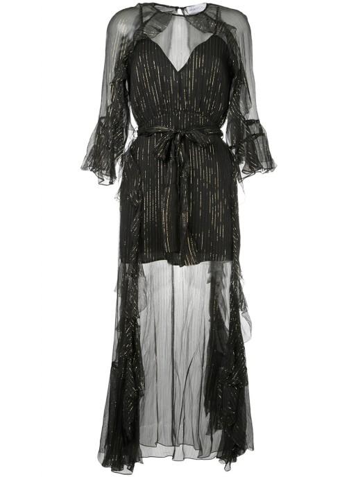 ALICE MCCALL Moon Dance Black Dress