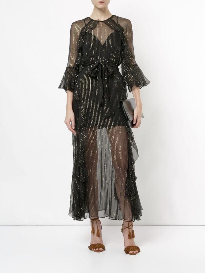 ALICE MCCALL Moon Dance Black Dress