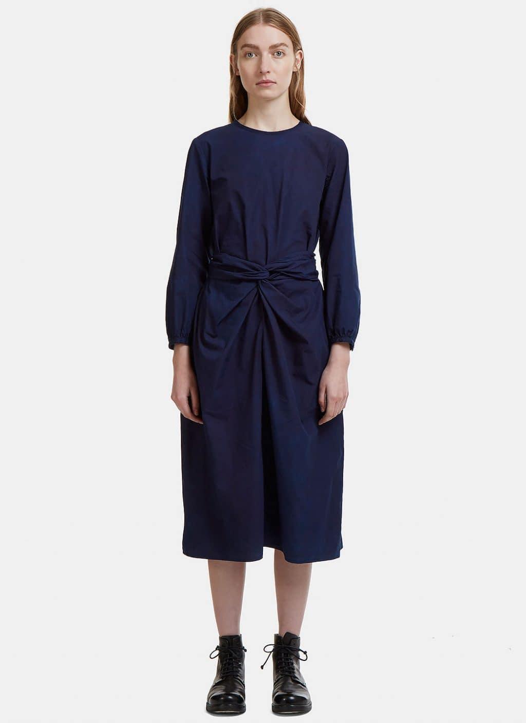 435a4340d4f0 COSMIC WONDER Bow Front Blue Dress - We Select Dresses