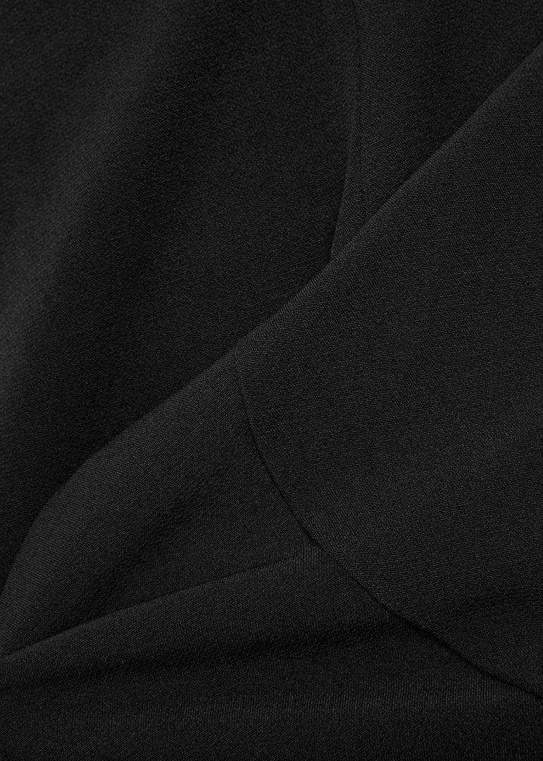 KEEPSAKE Shooting Star One Shoulder Black Dress