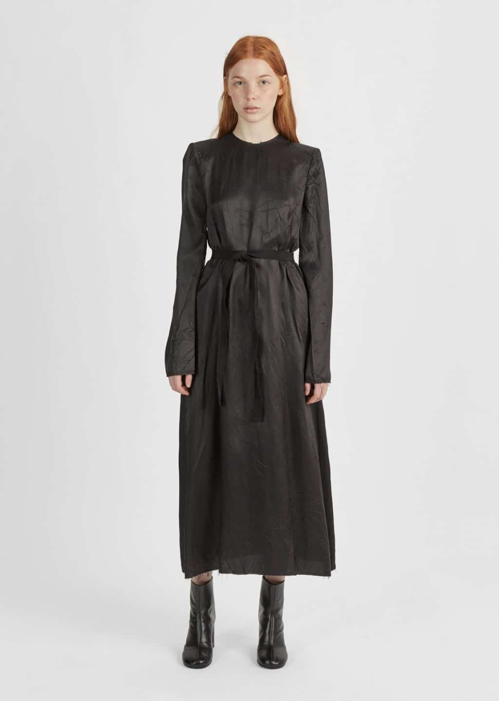 Long Sleeve Black Gowns