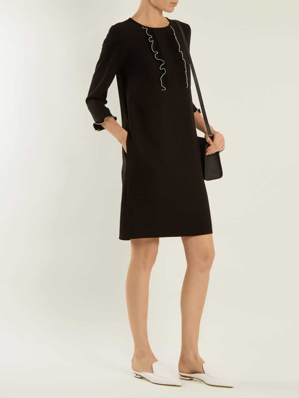 aacc89c10cf WEEKEND MAX MARA Knut Black Dress - We Select Dresses