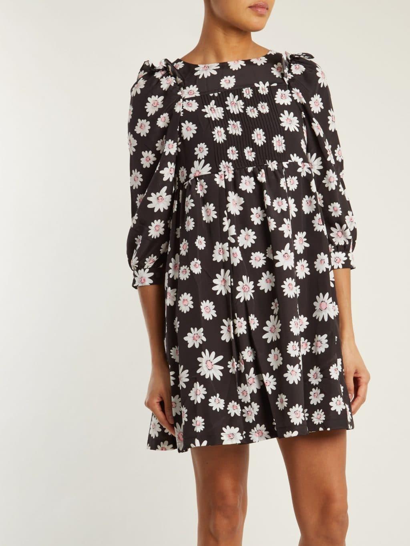 Balenciaga Long Sleeved Baby Doll Black Dress We Select Dresses