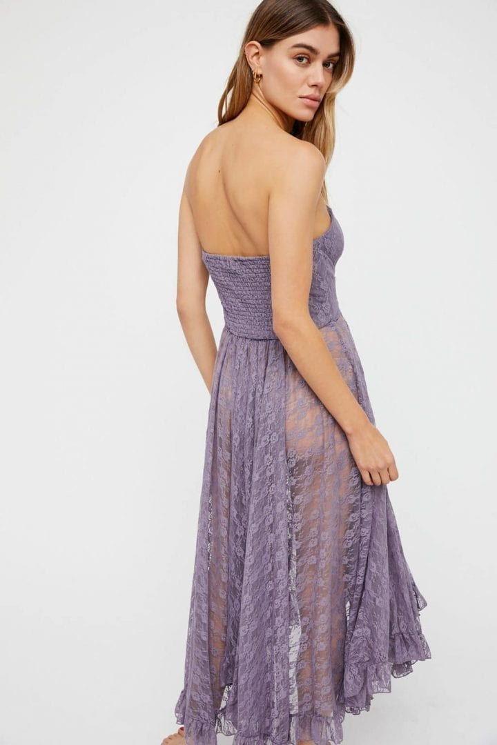 6a8be48434a1 FREEPEOPLE Italian Love Story Purple / Grey Slip Dress - We Select ...