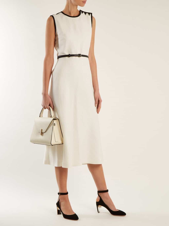 MAX MARA Saio Ivory Dress