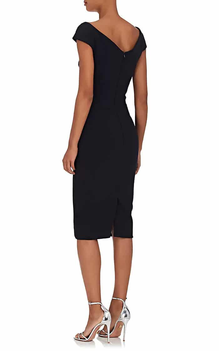 Zac Posen Crepe Sleeveless Sheath Black Dress We Select Dresses