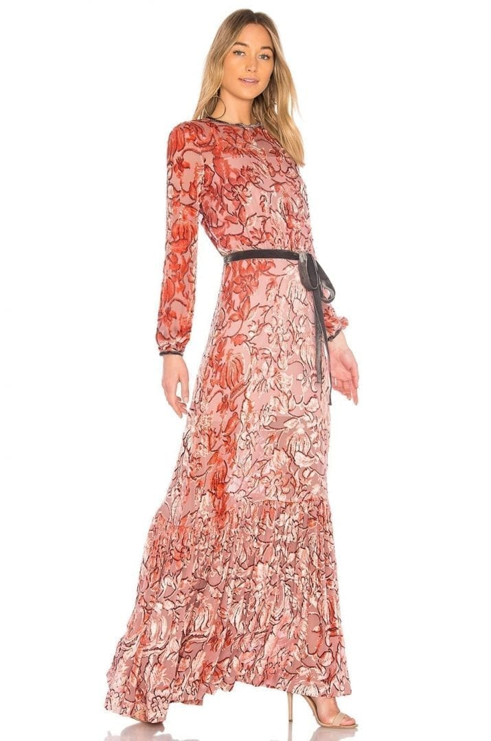 ALEXIS Felice Gown Orange Dress - We Select Dresses