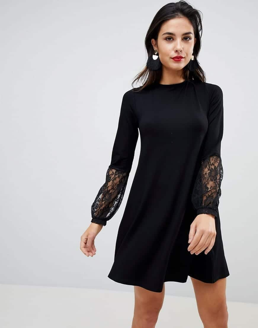 Looks - Black little dresses with sleeves video