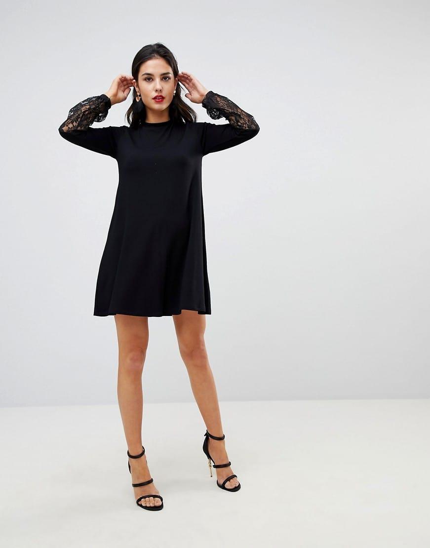 Black Dress Sleeves