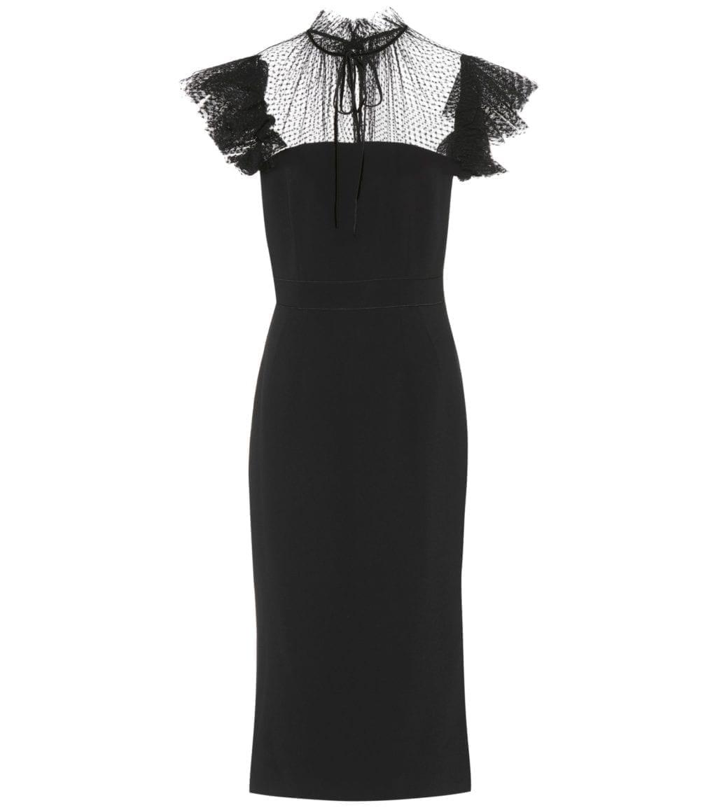 DOLCE & GABBANA Crêpe Black Dress