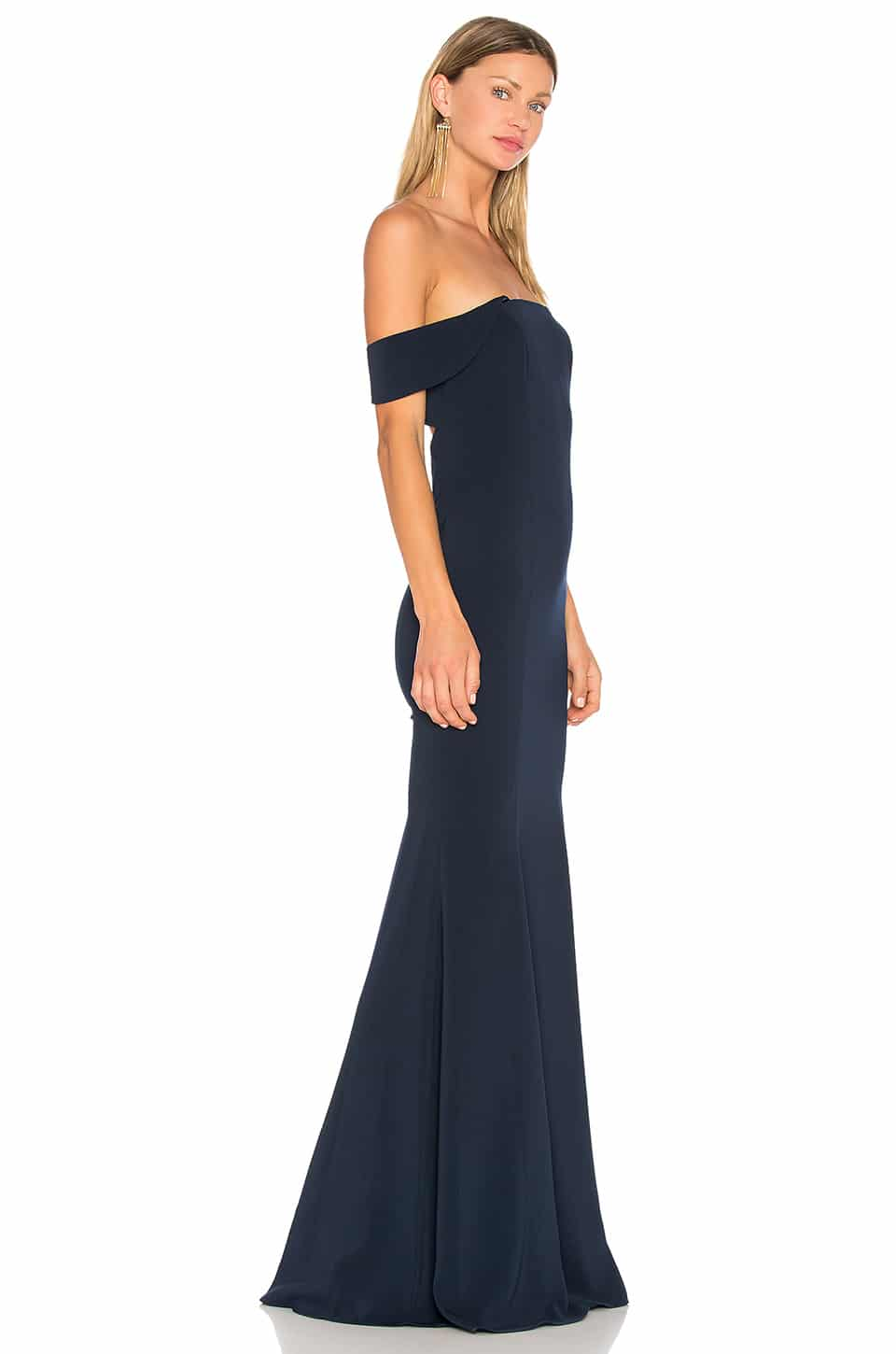 JAY GODFREY Biles Navy Gown - We Select Dresses