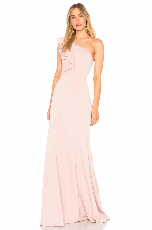 JAY GODFREY Osgood Blush Gown