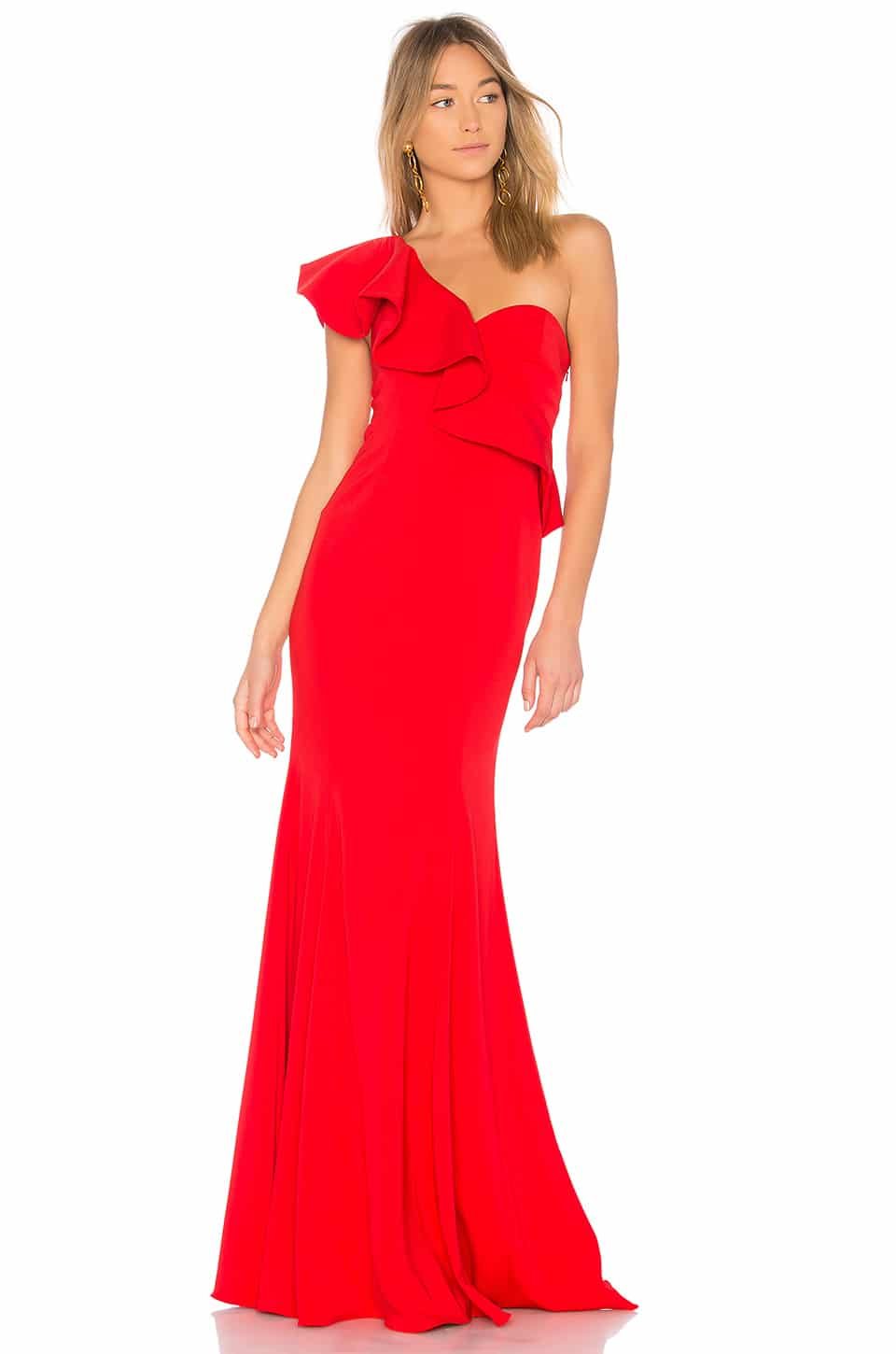 JAY GODFREY X Revolve Bolt Red Gown - We Select Dresses
