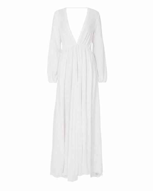 KALITA Aphrodite Maxi White Dress