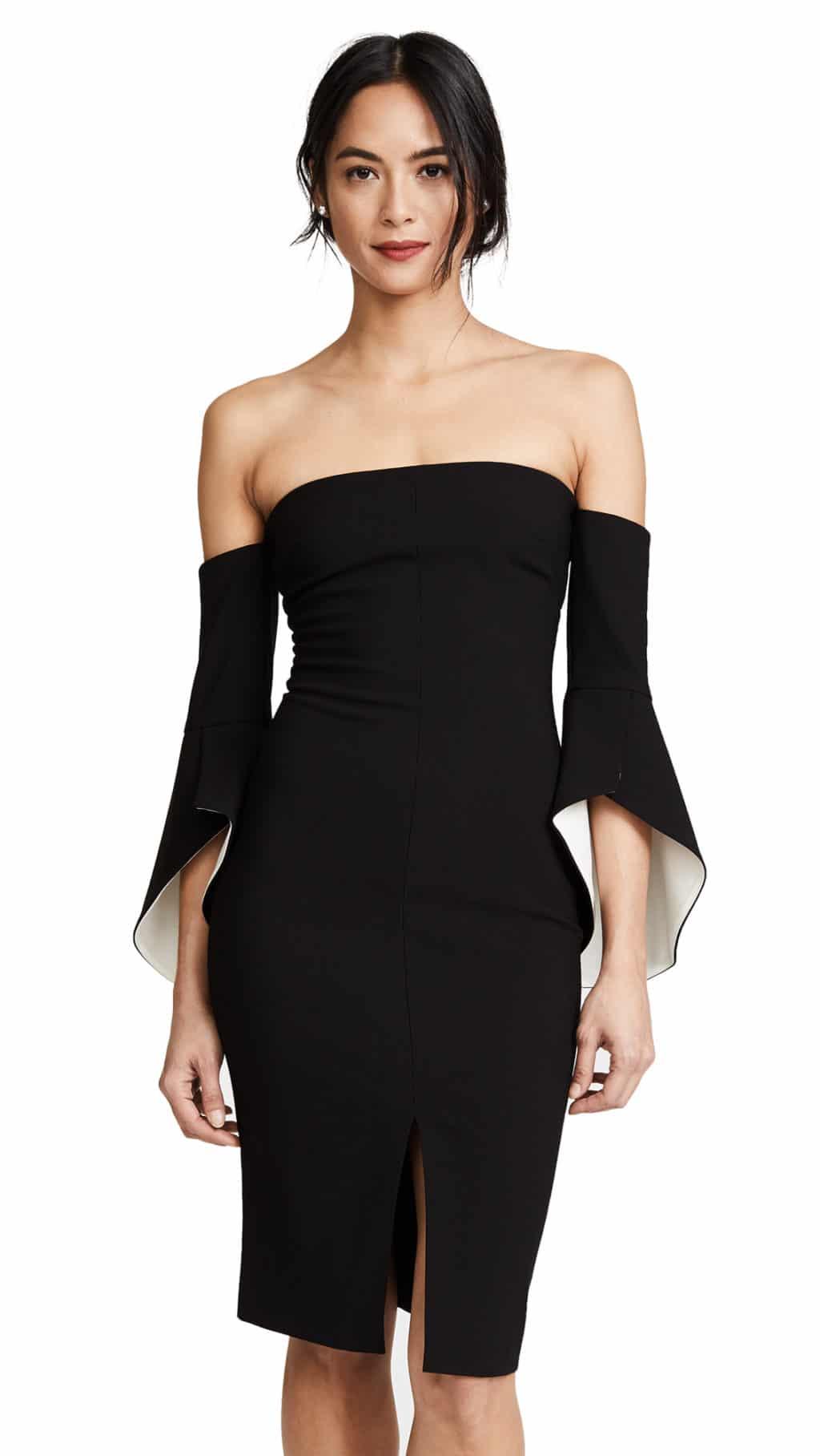 LIKELY Ramona Black / White Dress
