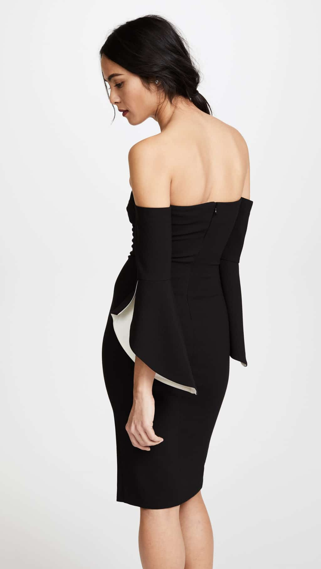 LIKELY Ramona Black   White Dress - We Select Dresses f584e33ac9bd