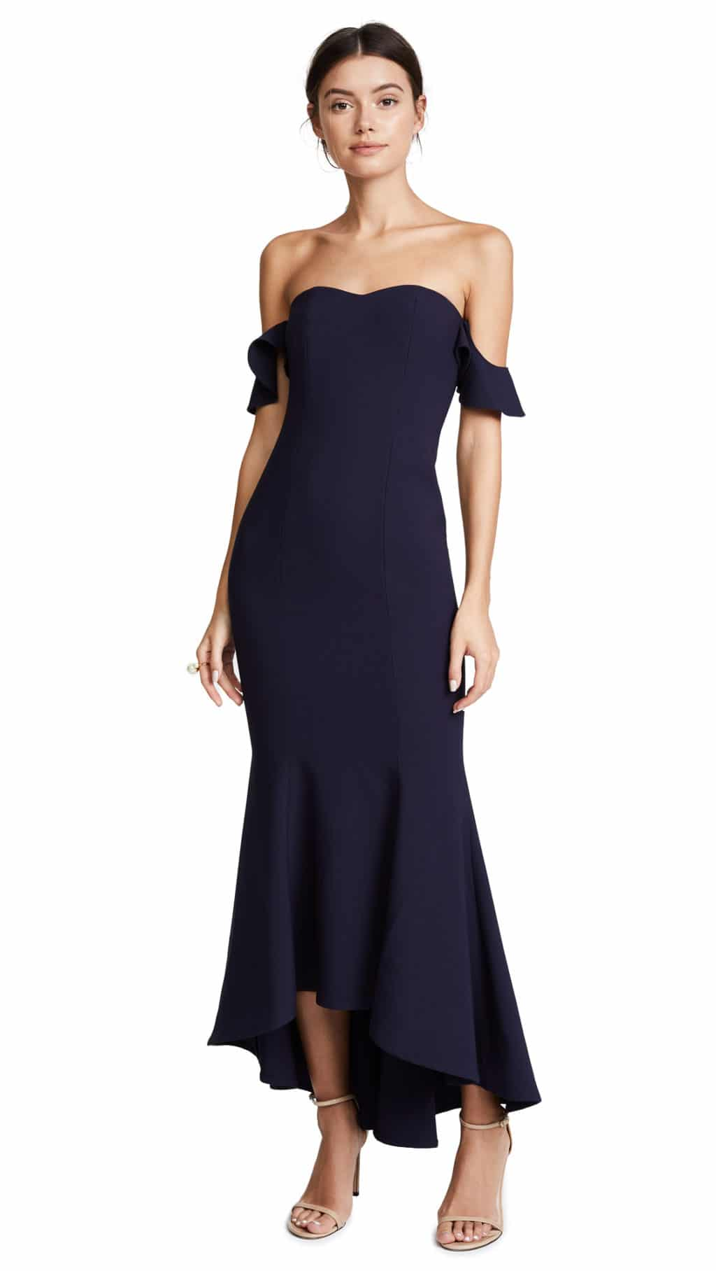 LIKELY Sunset Navy Blue Gown - We Select Dresses bb0d0ff0b4d5