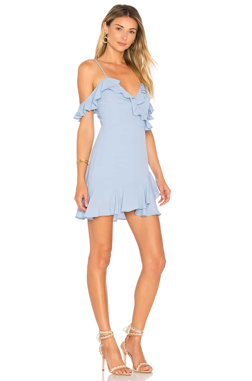 MAJORELLE Salsa Baby Blue Dress - We Select Dresses