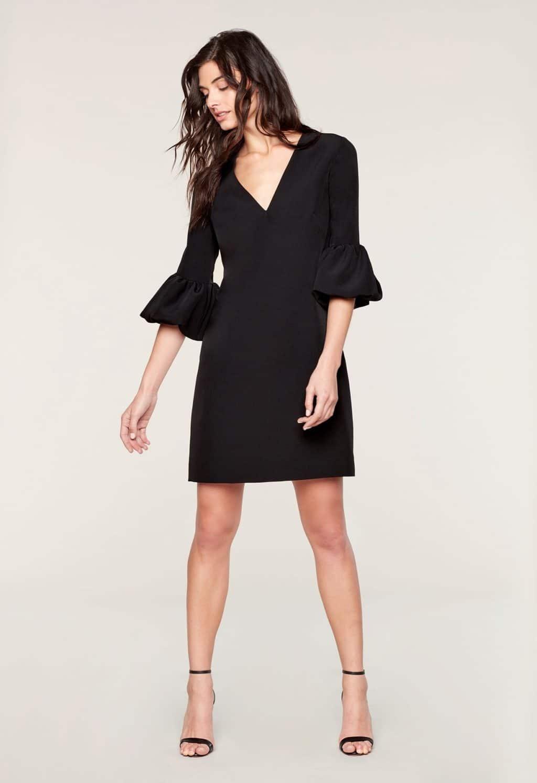 MILLY Mandy Black Dress