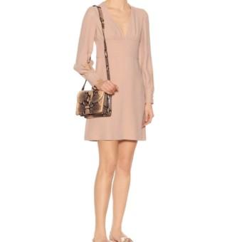 We Dress Pink Crêpe Embellished Select Blush N°21 Mini Dresses SXYZxSOq