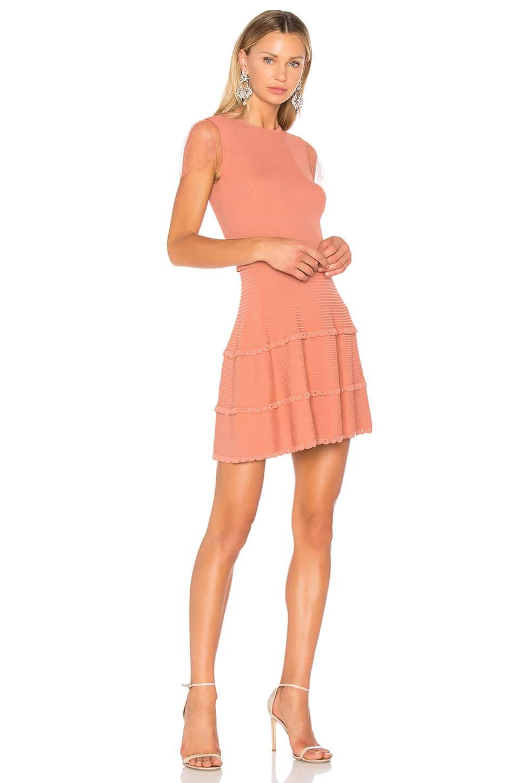 d470dcb44e4 RED VALENTINO Fit   Flare Mini Light Salmon Dress - We Select Dresses