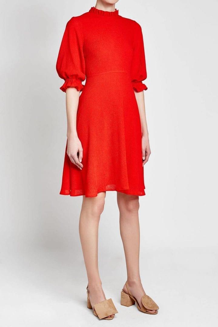 REJINA PYO Rachel Red Dress
