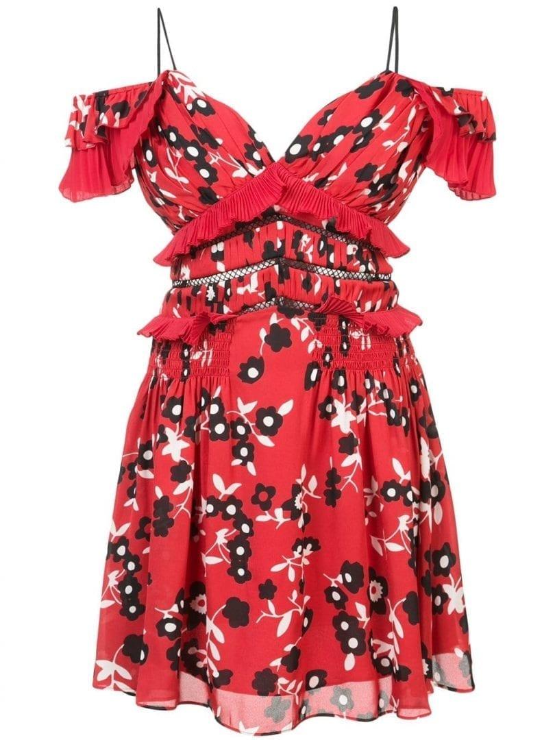 Red Portrait Dresses