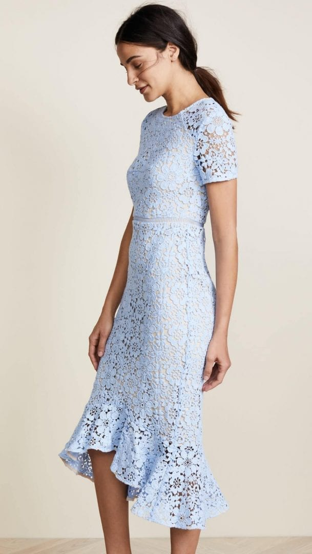 SHOSHANNA Edgecombe French Blue Dress - We Select Dresses