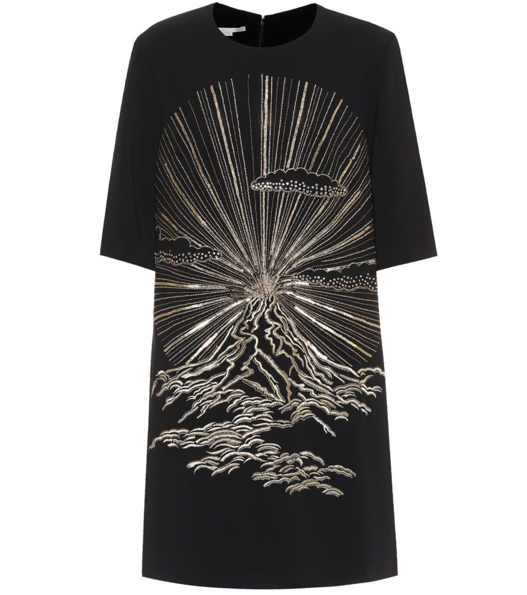 8c50d5fa5ea1 STELLA MCCARTNEY Beaded Black Dress - We Select Dresses