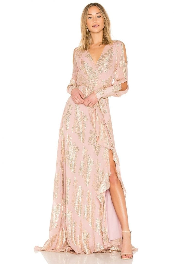WE ARE KINDRED Lotus Maxi Pink Dress - We Select Dresses