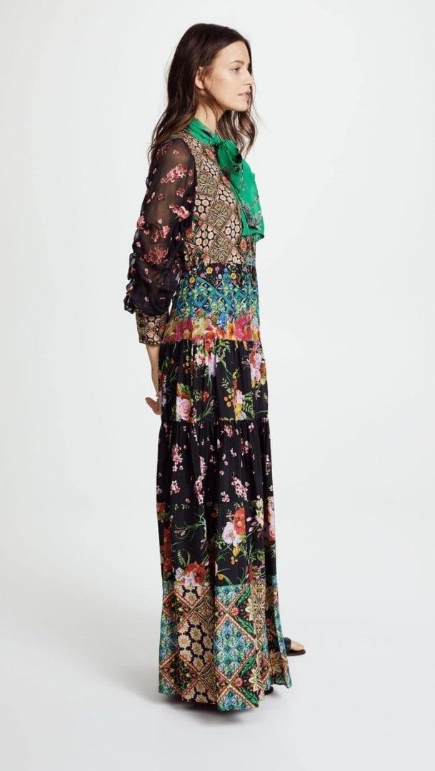 ALICE + OLIVIA Clementine Maxi Multi Dress - We Select Dresses