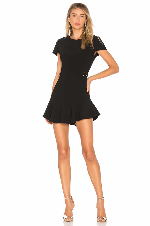 AMANDA UPRICHARD Mckenna Black Dress - We Select Dresses