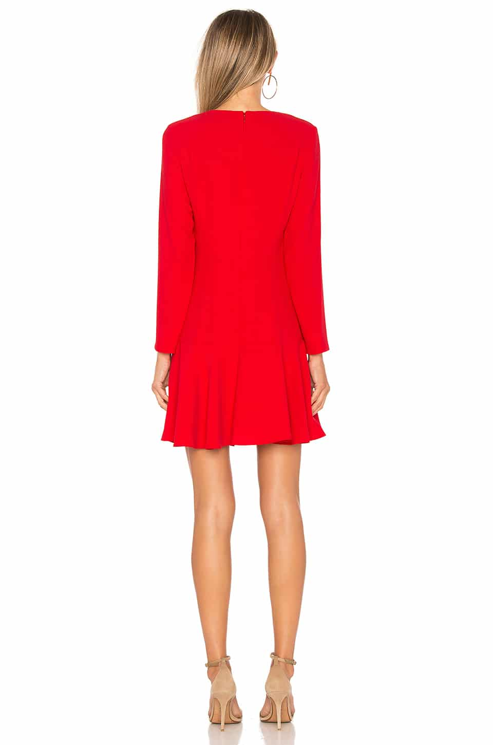 Amanda Uprichard X Revolve Long Sleeve Hudson Mini Lipstick Red Dress We Select Dresses With quick shipping and stand out styles you'll love it too. amanda uprichard x revolve long sleeve