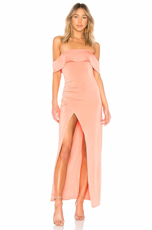 e3aa296d505 NBD Stella Rosa Sherbert Salmon Gown - We Select Dresses