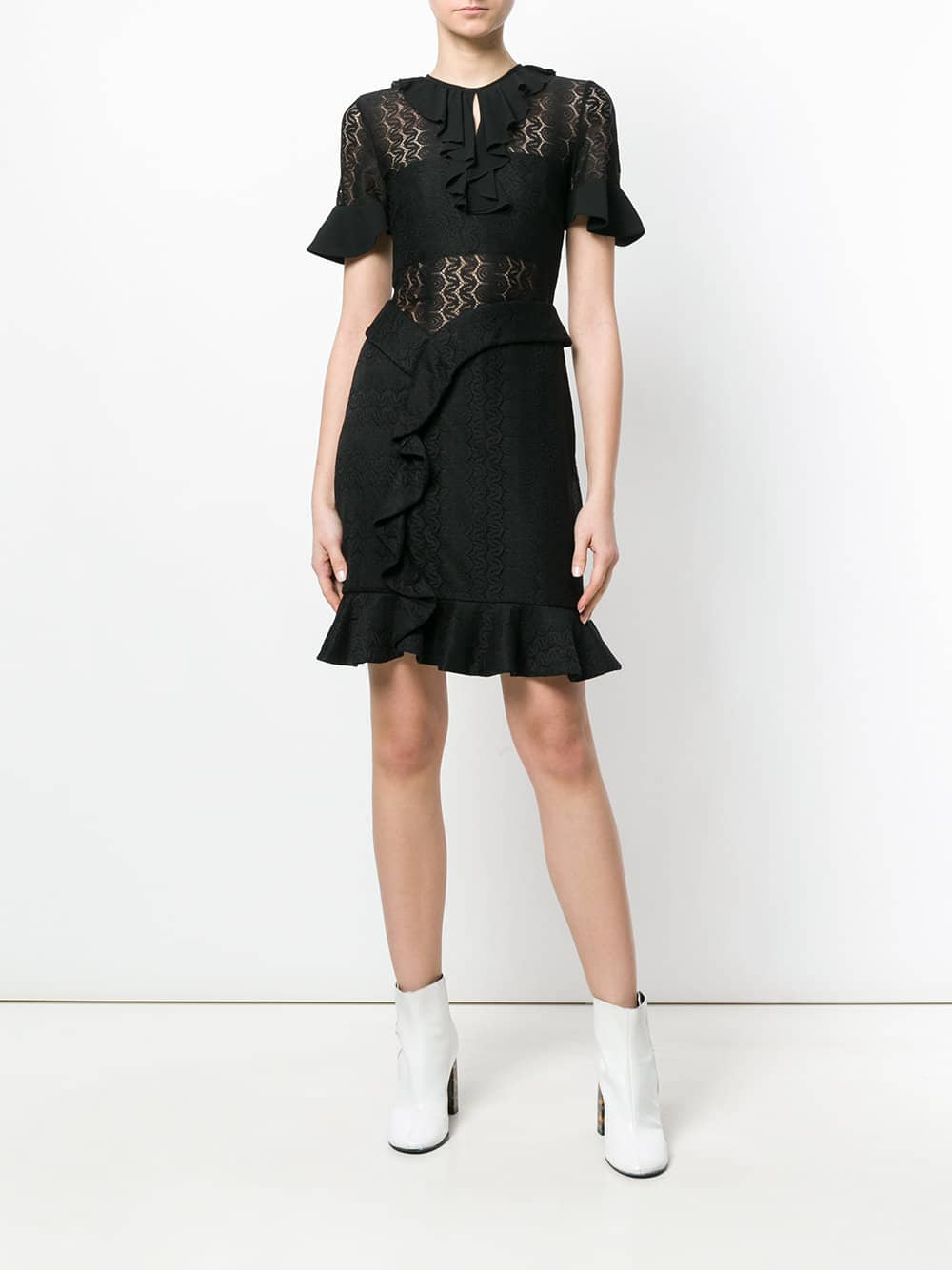 THREE FLOOR Alexa Black Dress