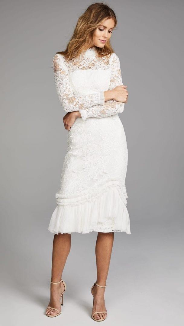 ALEXIS Anabella White Dress