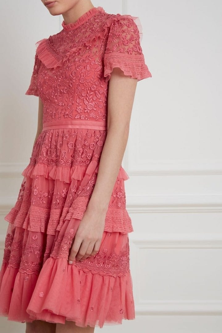 IRIS Hot Pink Dress