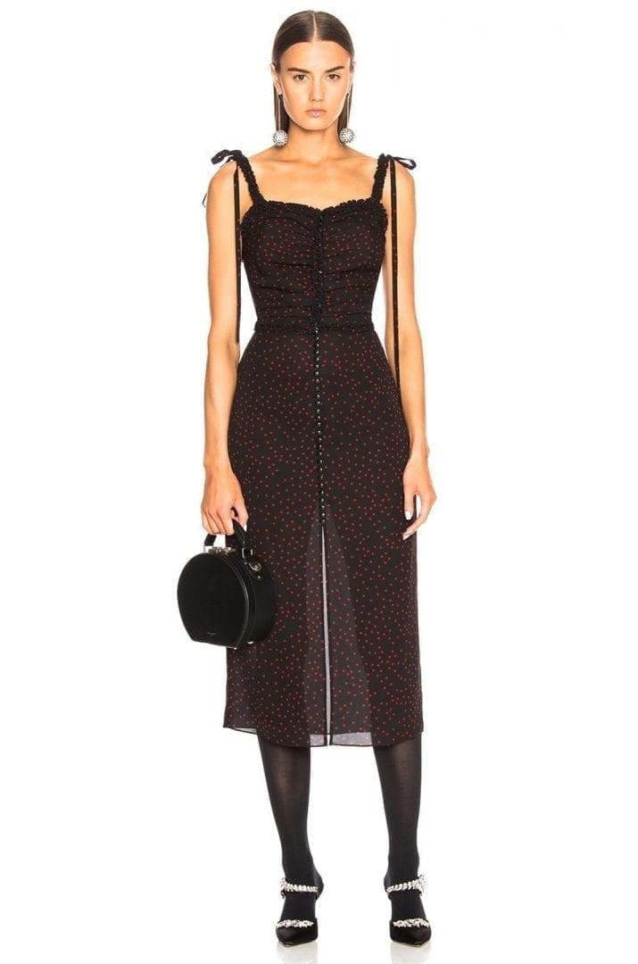5aeccf8e3b06 MAGDA BUTRYM Puelba Black Dress - We Select Dresses