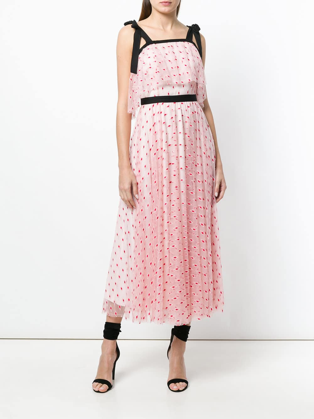PHILOSOPHY DI LORENZO SERAFINI Bow Tie Blush Pink Dress - We Select ...