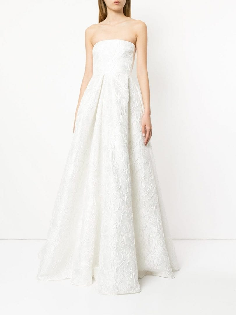 ALEX PERRY Alice White Gown