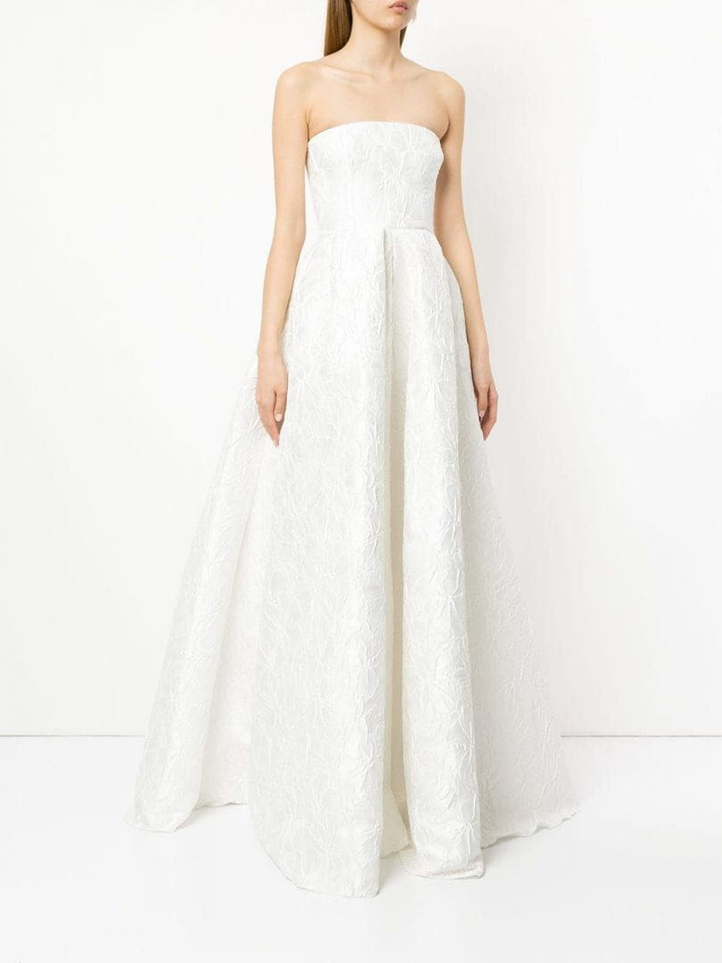ALEX PERRY Alice White Gown - We Select Dresses