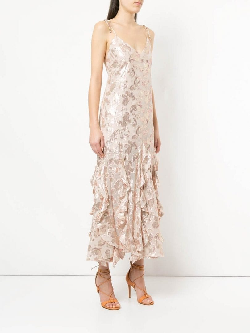 ALICE MCCALL Best Of You Champagne Dress