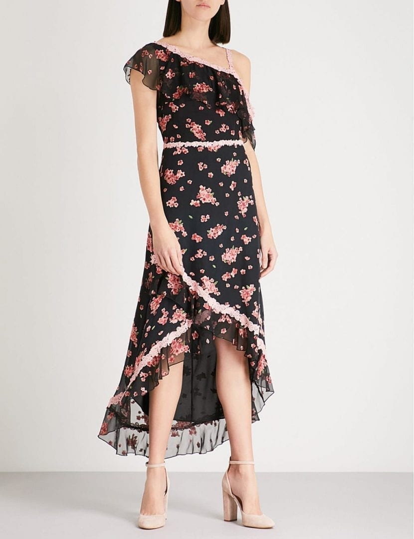 Floral Pattern Dress Awesome Decoration