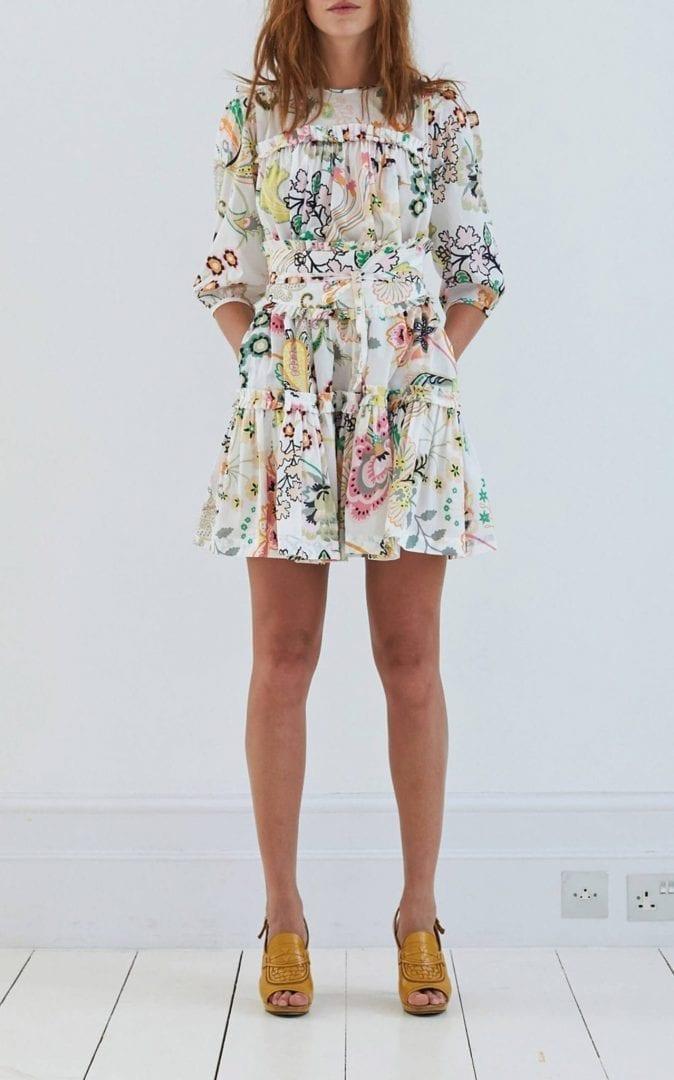 ANNA MASON Dolly Mini Multi / Floral Printed Dress