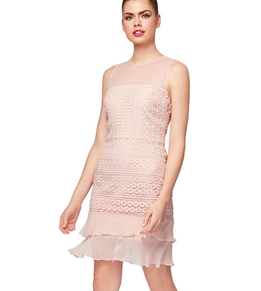 BETSY JOHNSON Confection Blush Dress