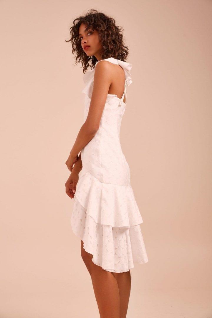 short ivory dresses