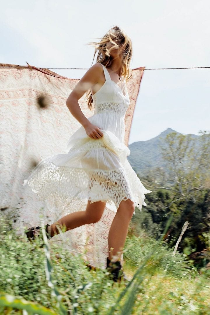 5b23dcebb19f FREEPEOPLE Caught Your Eye Maxi White Dress, free people dresses ... the  cool