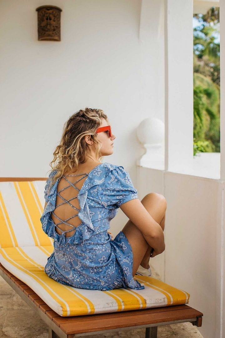 FREEPEOPLE Celestial Play Chambray Dress, Free people the cool girls affordable label