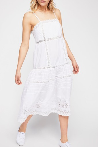 FREEPEOPLE This Is It Ivory Slip Dress